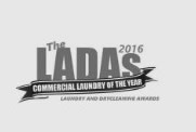 Winner of 'Commercial Laundry of the Year' 2016 at the Laundry And Drycleaning Awards (LADAs) recognising companies, individuals, services and products that showcase a new level of customer service and professionalism within the industry.